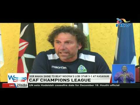 CAF champions league: Gor Mahia shine to beat Nigeria's Lobi Star 3-1