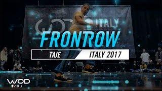 Taje | FrontRow | World of Dance Italy Qualifier 2017 | #WODIT17