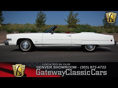 1973 Cadillac Eldorado for Sale - CC-1017612