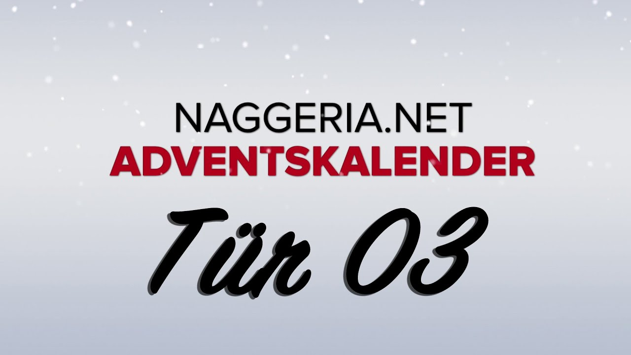 [Tür 03] Speedy Renton: Portal (Naggeria Adventskalender 2015)