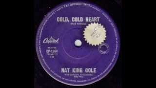 Nat King Cole - Cold, Cold Heart (Original Mono 45)