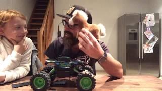 Testbericht Test RC Rock Crawler von Maisto Tech R/C ferngesteuertes Auto Monstertruck [WERBUNG]