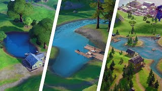 Catch a Fish at Lake Canoe, Lazy Lake, and Flopper Pond Locations - Fortnite