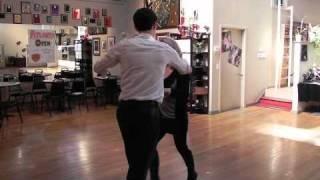 Dancing Stars of Atlanta - Sherri's First Dance Lesson