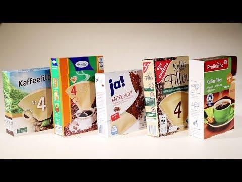 Filtertüten im Test: Womit gelingt der Kaffee am besten?