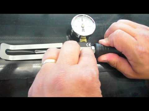 Air Pressure Test Manometer