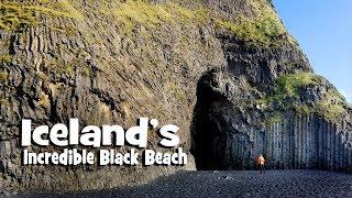 Exploring Iceland's Black Sand Beach