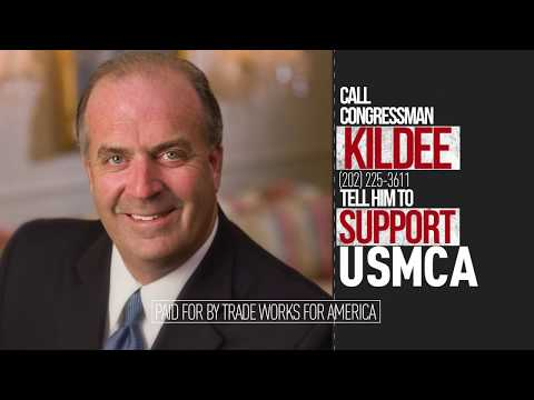 Tell Representative Kildee: Michigan First. Vote YES on the USMCA