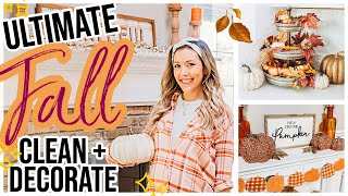 NEW FALL CLEAN + DECORATE WITH ME 2020! ULTIMATE FALL HOME DECOR EXTREME HOME MAKEOVER!  @Brianna K