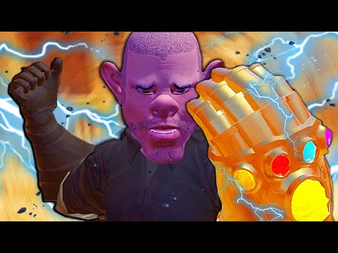 BECOMING THANOS IN VR (Blade and Sorcery VR)
