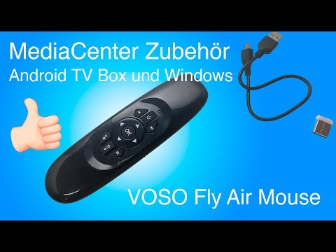 TV Box Zubehör: VOSO Fly Air Mouse