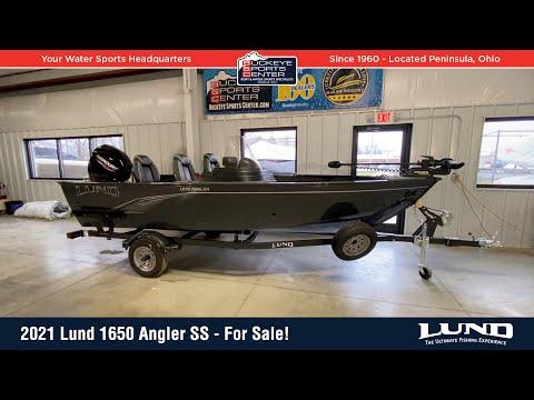 2021 Lund Angler 1650 SS at Pharo Marine, Waunakee, WI 53597