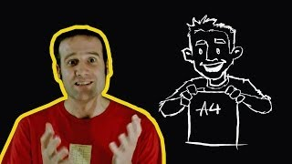 Paper sizes explained   Number Hub with Matt Parker   Head Squeeze