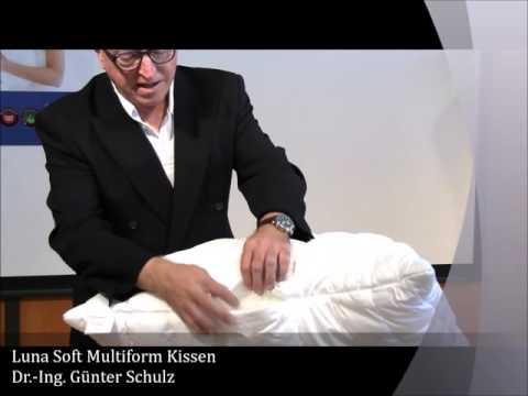 Kopie von Kopfkissen Multiform - höhenverstellbar - Allergiker geeignet