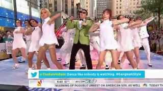 PSY   GANGNAM STYLE NBC Today Show! 0914 싸이 미국방송 라이브
