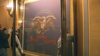 Civil War Flags Return To State Capitol As Restoration Nears Completion