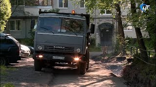 Власти происпектировали ход ремонтов дворов на Попова