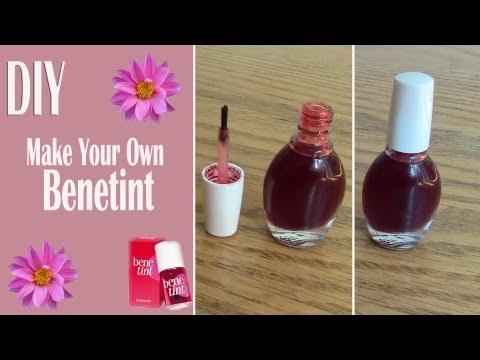 Πως να φτιάξετε Benetint ή κόκκινο lip stain