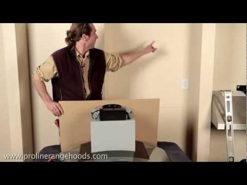 How To Install Wall Mount Range Hood - PLFW544 & PLFW543