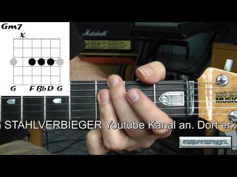 Gitarre lernen - die Akkorde - Gm7