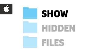 How to Show Hidden Files on Mac | Apple Mac Tutorial