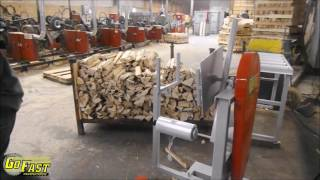 Go Fast Manufacturing Firewood Wrapper - 2016 Prototype