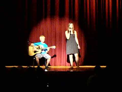 Lincoln Middle Talent Show- Jeff Buckley- Hallelujah- Covered by WFS