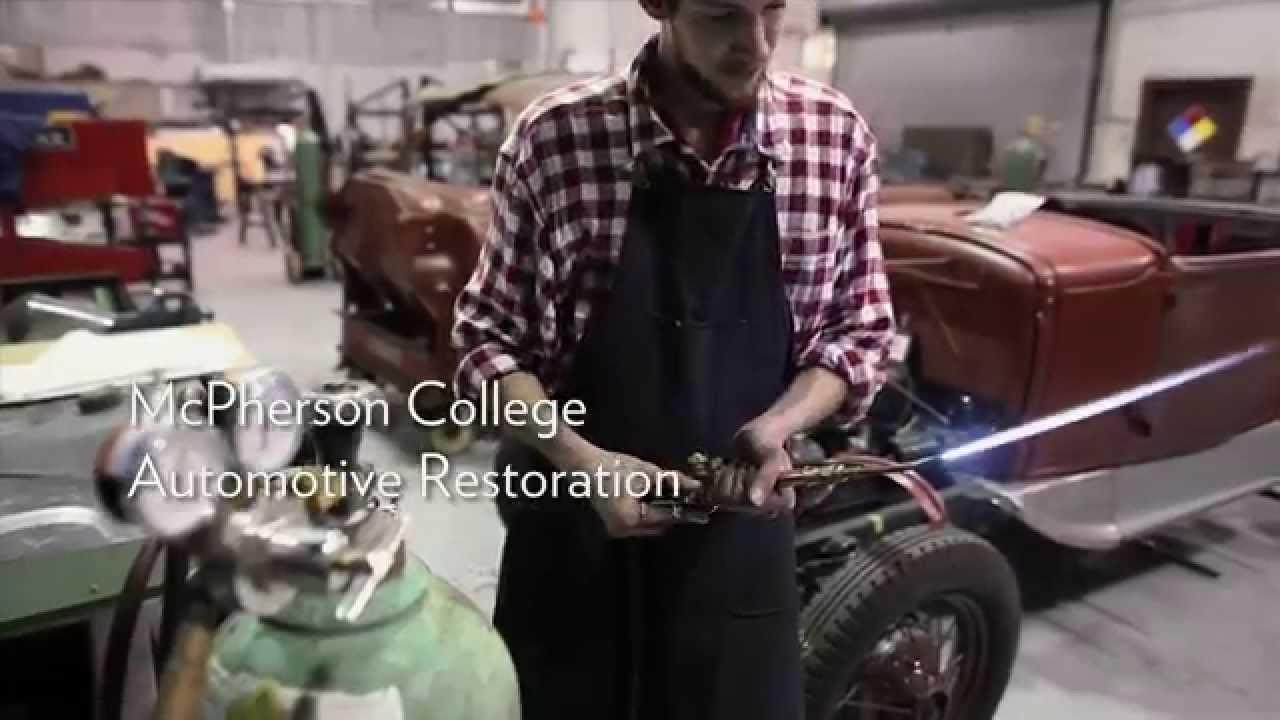 McPherson College - Auto Restoration