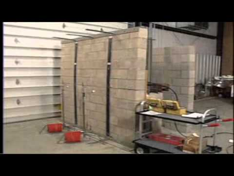The Reinforcer, installed by Omni Basement Systems, is an effective solution to reinforce bowing and cracking basement walls. Tests show that a foundation wall fitted with the Reinforcer system can withstand 10 times more pressure than a wall without any reinforcement. It is also a superior alternative to steel