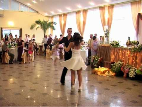 "Dirty Dancing first wedding dance from the movie ""the time of my life"""