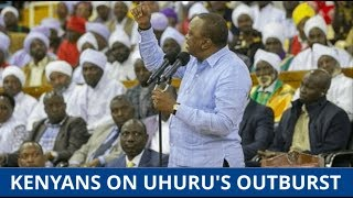 SORT OUT YOUR HOUSE, UHURU TOLD: Kenyans divided opinion over
