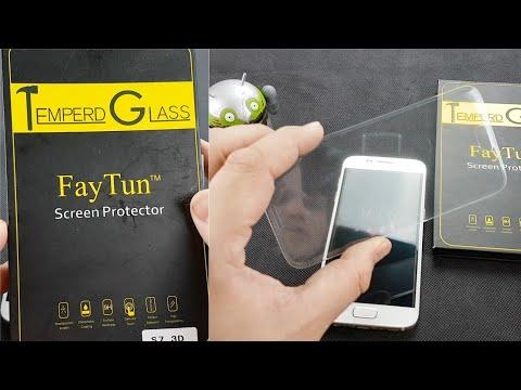 Samsung Galaxy S7 - Endlich das richtige Panzerglas?! (Fay Tun)