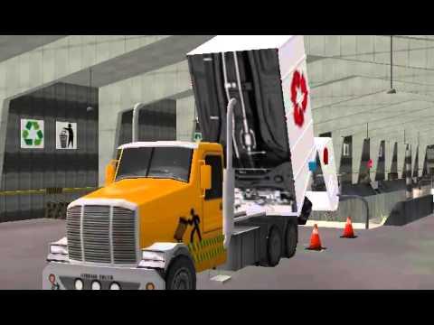 Видео Свалка Truck Simulator
