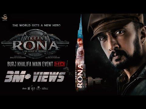 The Main Event Video of Vikrant Rona on Burj Khalifa - The World Gets A New Hero