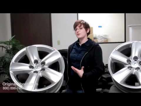 ES 330 Rims & ES 330 Wheels - Video of Lexus Factory, Original, OEM, stock new & used rim Co.
