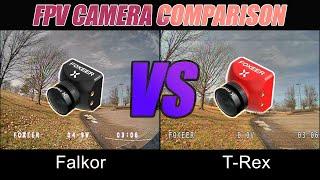 FPV Camera Comparison - Foxeer T-Rex VS Foxeer Falkor 3