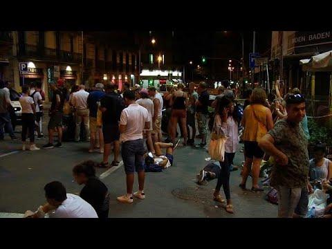 Βαρκελώνη: Κύμα αλληλεγγύης μετά το τρομοκρατικό χτύπημα