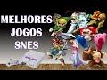 Top 20 Melhores Jogos Do Super Nintendo best Snes Games