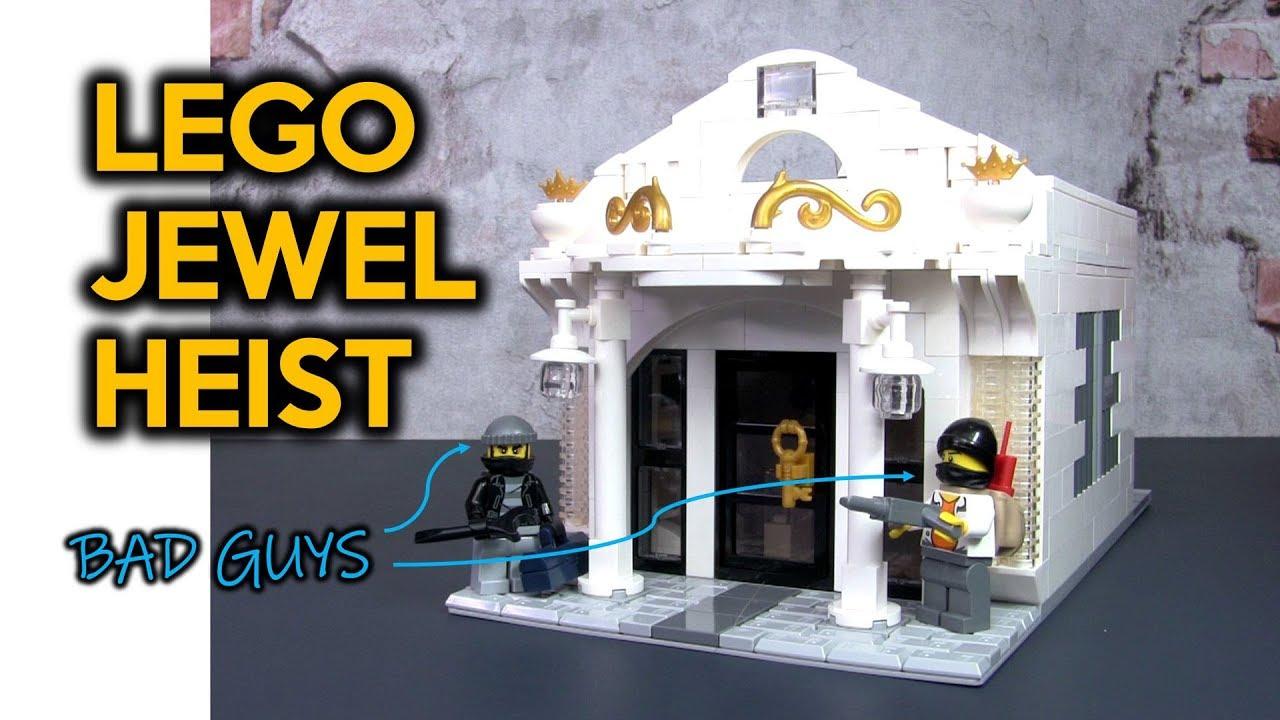 LEGO Jewel Heist MOC