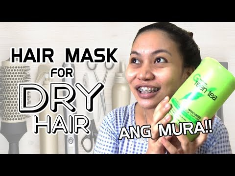 Buhok mask na may al