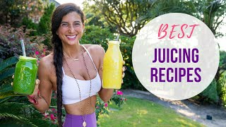 Best Juicing Recipes & Fruit Infused Waters | How To Stay Hydrated | FullyRaw Vegan