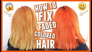 How To Fix Faded Colored Hair At Home | JaaackJack