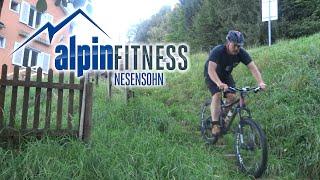preview picture of video 'Suldis - Batschuns - Rankweil via Wanderweg/hiking trail (MTB/Mountainbike-Downhill)'