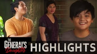 Franco and Rhian tries to comfort Santi  | The General's Daughter (With Eng Subs)