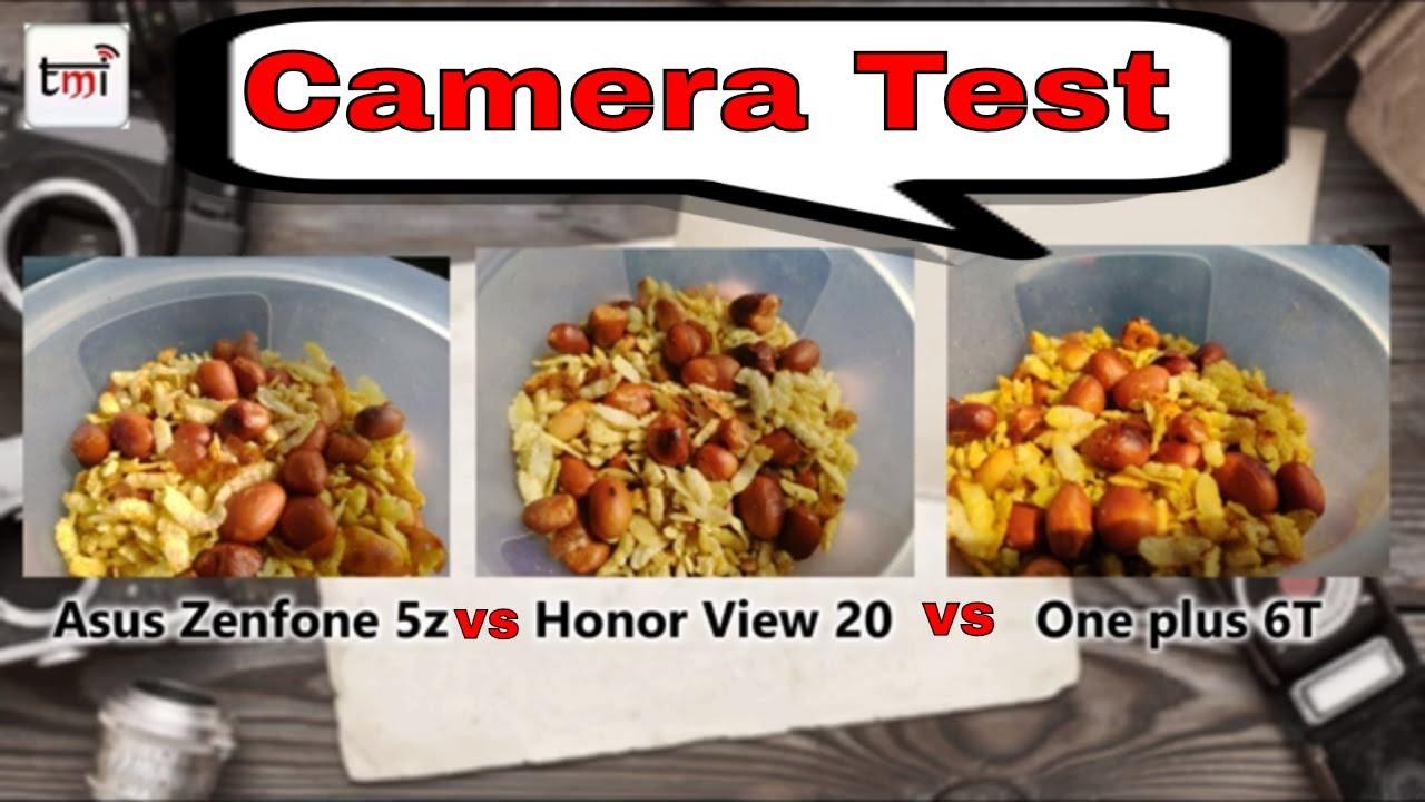 ऑनर व्यू 20 Vs वनप्लस 6T Vs जेनफोन 5Z: कैमरा रिव्यू