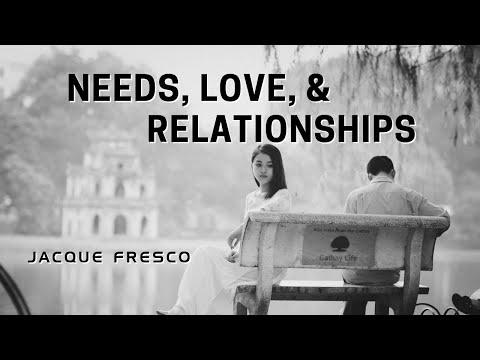 Jacque Fresco - Needs, Love, & Relationships (1976)