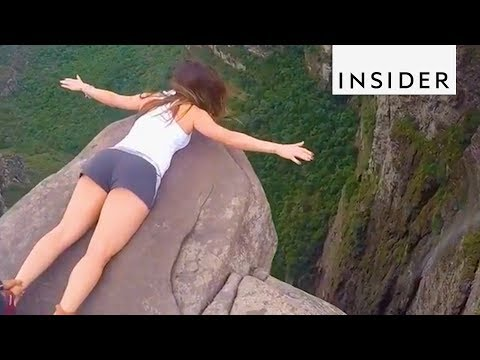 On Top of the World at Brazil's Smoky Falls