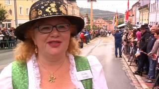 preview picture of video 'Brauereiwagen Geschicklichkeitsfahren in Zwiesel - DonauTV'
