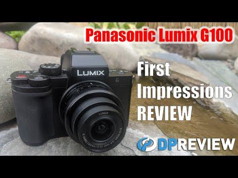 External Review Video mHuaMhq4RVM for Panasonic LUMIX DC-G100 Micro-Four-Thirds Camera (DC-G100V w/ Tripod Grip DMW-SHGR1)