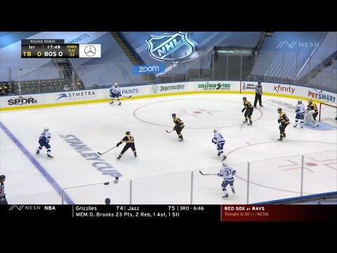 2020 Stanley Cup ECQ. Lightning vs Bruins. Aug 5, 2020